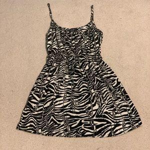 Dresses & Skirts - vivacous forever 21 zebra dress 🦓